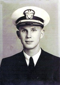 Robert Moffitt - Ensign United States Navy - 1944