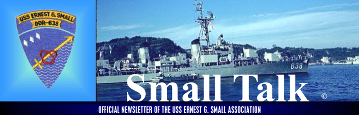 Uss Ernest G Small The Early Days